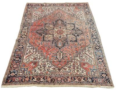 Lot 724 - Heriz carpet
