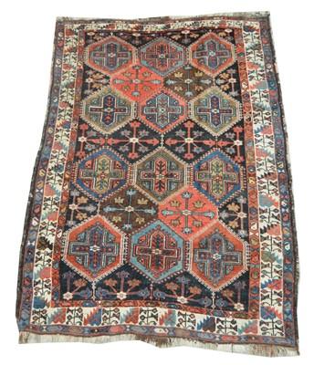 Lot 728 - Antique Bakhtiari rug