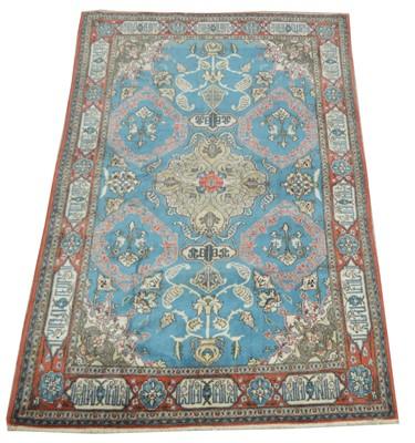 Lot 732 - Antique Qum carpet