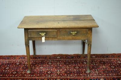 Lot 48 - A 19th Century oak side table