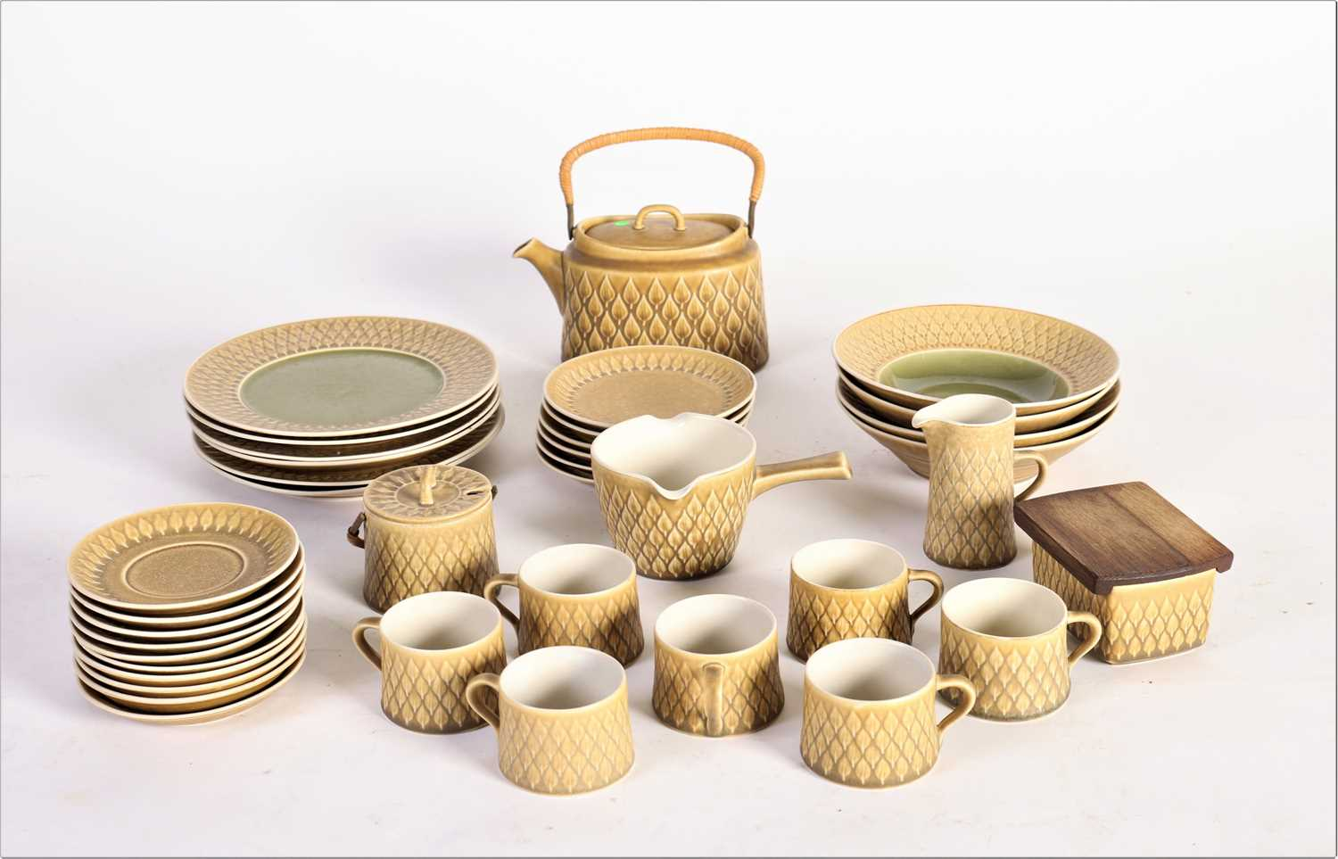 Lot 721 - Jens Quistgaard Bing and Grondahl stoneware service