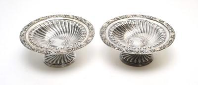Lot 157 - Victorian silver tazzas.