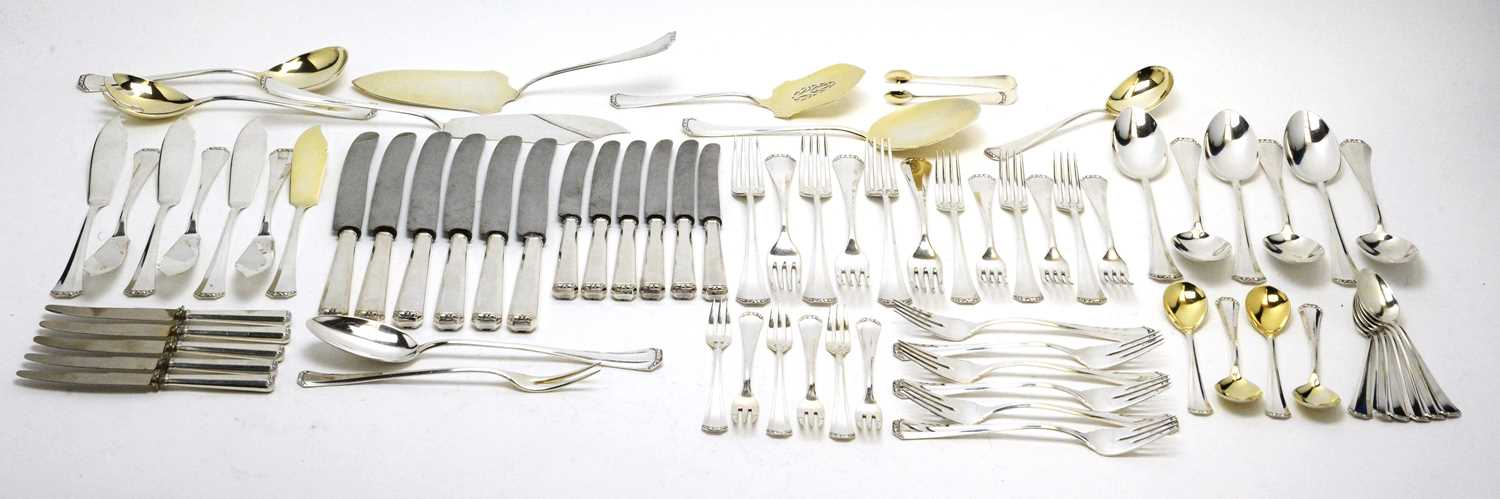Lot 196 - A suite of early 20th Century German silver cutlery.