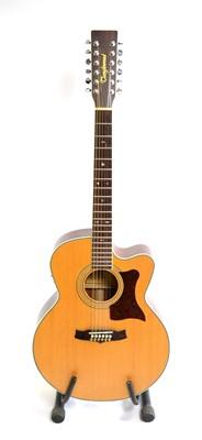 Lot 578 - Tanglewood  TW55/12 NSB Guitar