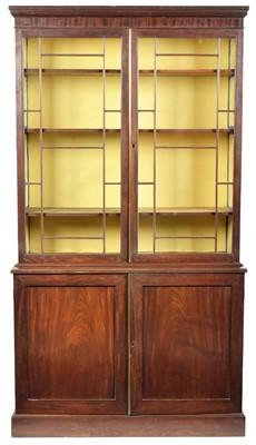 Lot 891 - 19th Century mahogany bookcase