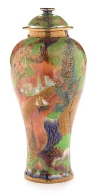 Lot 523 - Wedgwood fairyland Lustre Vase