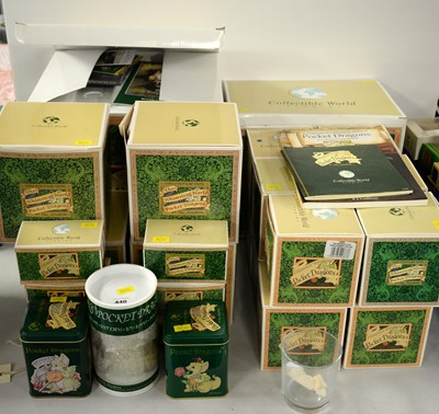 Lot 440 - A collection of Collectible World Studios 'Pocket Dragons'