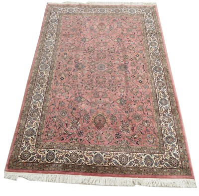 Lot 735 - Kashan carpet