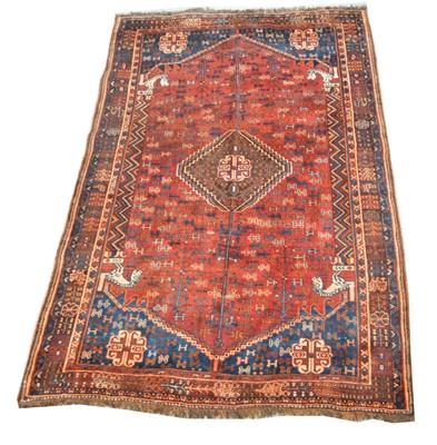 Lot 744 - Qashqai carpet