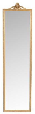 Lot 775 - 20th Century gilt and gesso mirror