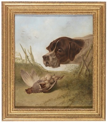 Lot 105 - W* Wright after Richard Ansdell - oil.