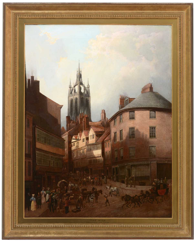 Lot 267 - Manner of Thomas Miles Richardson- oil.
