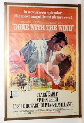 """Lot 1287 - Movie poster for """"Gone with the Wind"""""""