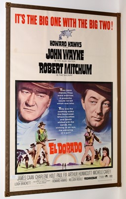 """Lot 1288 - Movie poster for """"El Dorado"""""""