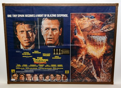 """Lot 1289 - Movie poster for """"The Towering Inferno"""""""
