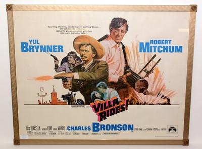 "Lot 1290 - Movie poster for ""Villa Rides!"""