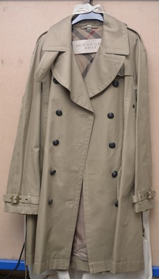 Lot 318 - A Burberry Brit raincoat