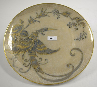 Lot 322 - A Rosenthal plaque, 33cm diameter