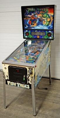 Lot 1204 - A Williams Electronic Games Inc pinball amusement machine