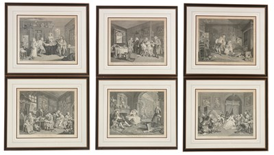 Lot 6 - After Hogarth - engravings