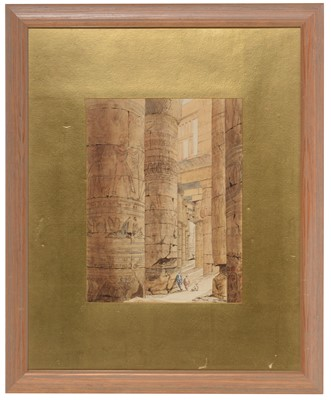 Lot 26 - British School, 19th Century - watercolour