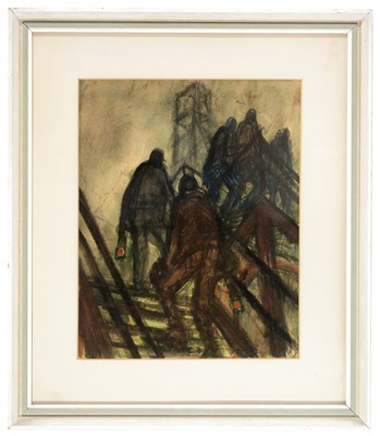 Lot 219 - Norman Stansfield Cornish - watercolour.