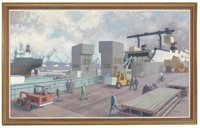 Lot 965 - Norman Cornish - oil