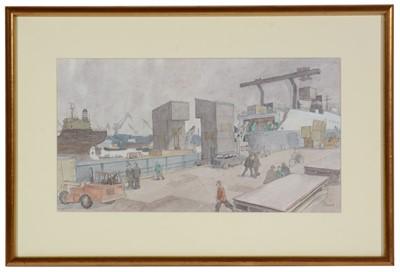 Lot 953 - Norman Standfield Cornish - watercolour