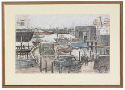 Lot 661 - Norman Cornish - pastel