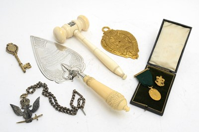 Lot 136 - Glasgow Govan Town Hall opening interest items