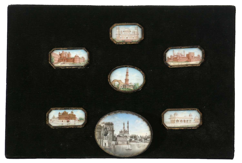 Lot 329 - 19th Century Indian miniatures.