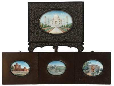 Lot 330 - 19th Century Indian miniatures.
