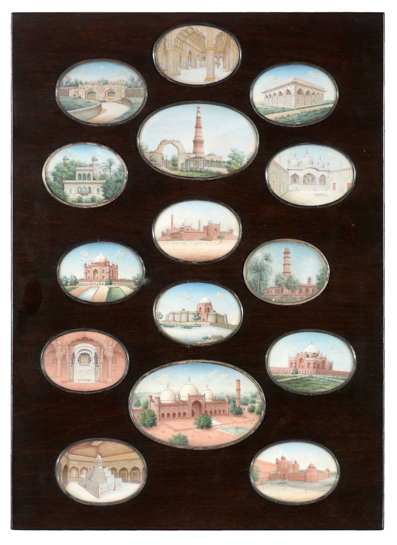 Lot 328 - 19th Century Indian miniatures.