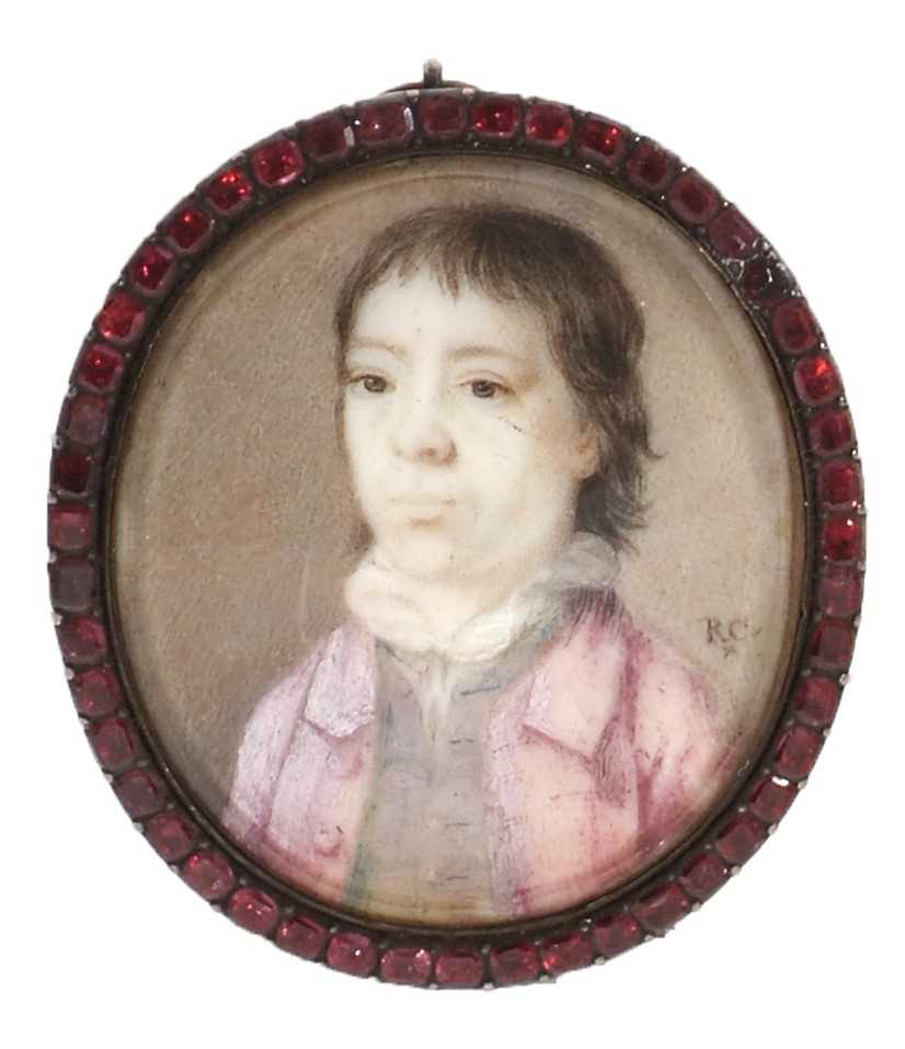 Lot 332 - Attributed to Richard Cosway - miniature.