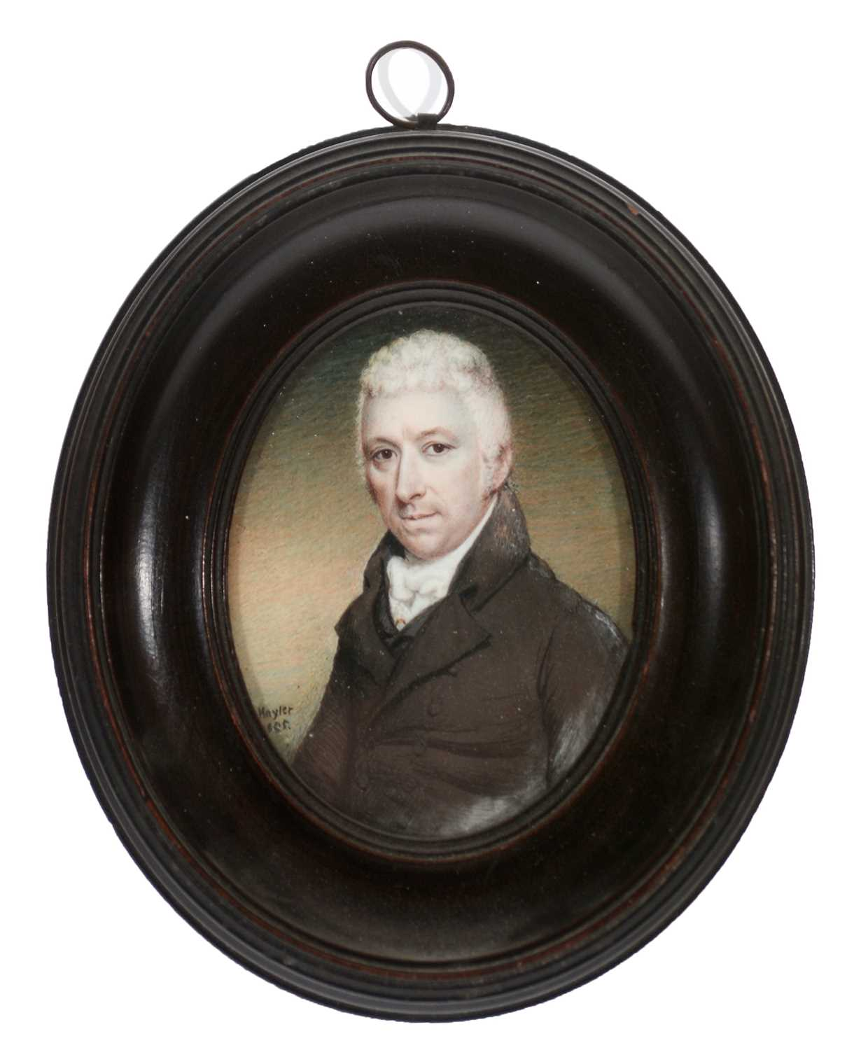 Lot 334 - Attributed to Charles Hayter - miniature.