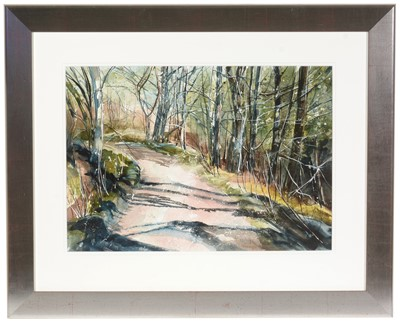 Lot 31 - Christine O'Keefe - ink and watercolour