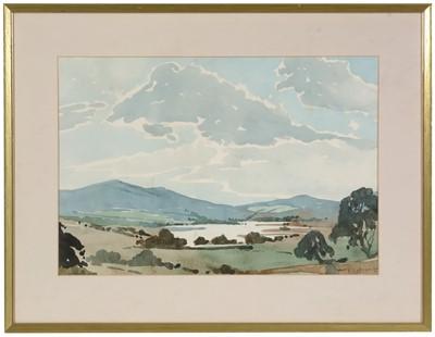 Lot 21 - Alf Cuthbert - watercolour