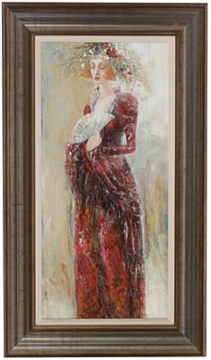 Lot 1004 - Ludmila Curilova - oil
