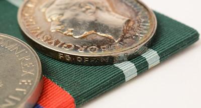 Lot 1076 - Air Force Cross and Air Efficiency Award group