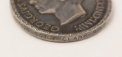 Lot 1079 - Distinguished Flying Medal awarded to 1358025 Sgt. Frank Clark RAF