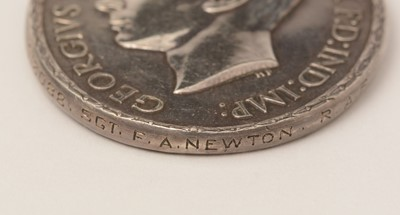 Lot 1080 - Distinguished Flying Medal, awarded to 1018088 Sgt F. A. Newton RAF