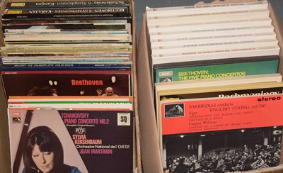 Lot 964 - Collection of classical LP's