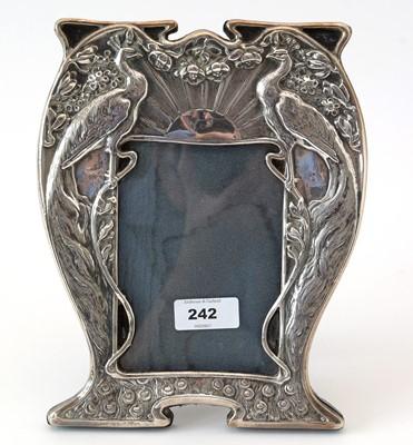Lot 242 - Art Nouveau style photograph frame.