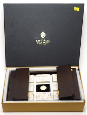 Lot 1 - East India Company – The Empire Collection of gold proof coins