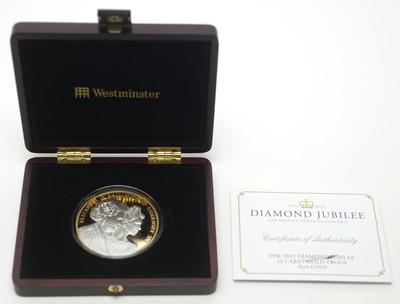 Lot 3 - A Diamond Jubilee of Her Majesty Queen Elizabeth II £10 gold proof 5oz coin