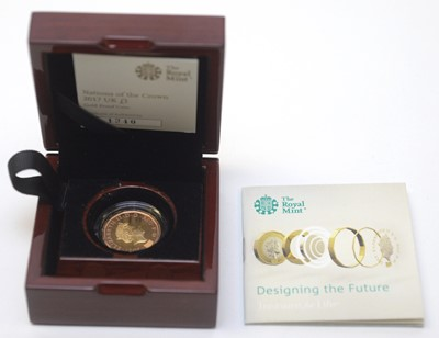 Lot 7 - Nations of the Crown £1 gold proof coin