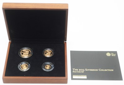 Lot 13 - The 2013 Sovereign Collection, issued by The Royal Mint