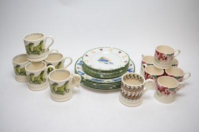 Lot 413 - Emma Bridgewater and Wood & Sons ceramics.