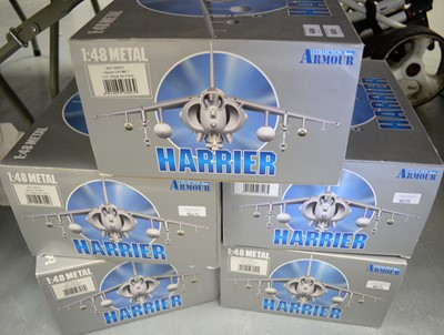 Lot 608 - Armour Collection 1:48 Scale metal diecast aeroplanes.