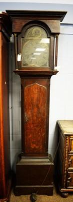 Lot 127 - 18th Century eight-day longcase clock.